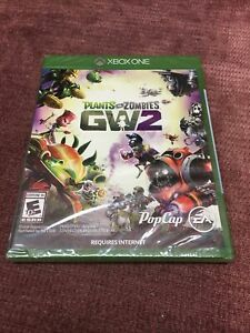 Plants vs Zombies 2 Garden Warfare (Microsoft Xbox One, 2016) New Factory Sealed