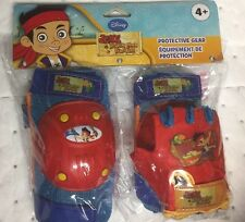 Disney Jake and The Never Land Pirates -Knee / Elbow / Glove  Protective Gear -