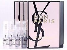YSL YVES SAINT LAURENT MON PARIS EDP 1.2ml .04oz x 4 PERFUME SPRAY SAMPLE VIALS