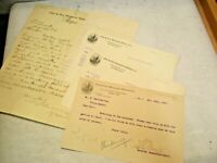 1897 Flint & Pere Marquette RR Report of Train Backing Accident - Hand Written