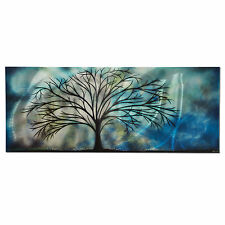 Unique! Modern Contemporary Abstract Painting Metal Wall Artwork Sculpture Art