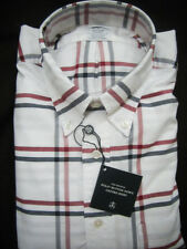 Brooks Brothers Oxford Check Sport Shirt Regent Fit ~ New NWOT $140 USA