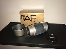 Nikon AF Nikkor 70-300mm F4-5.6 G Silver w/Hood - Good Condition