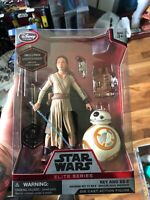 Star Wars Elite Series Rey and BB-8 Die Cast 6 inch Action Figure NIB