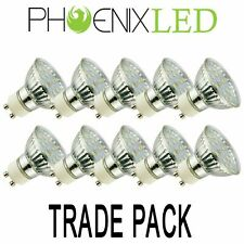 10 x 5W GU10 Led Bulbs Spotlight lamps Warm / Daylight 50W Equivalent Trade Pack