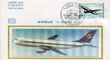 FRANCE FDC - 838 1751 1 AVION AIRBUS A 300 B 7 4 1973 - LUXE