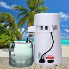 4L Pure Purifier Filter Water Distiller Dental Medical Hospital Home 750W