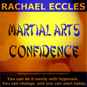 Martial Arts Confidence Sports Hypnosis Self Hypnosis CD