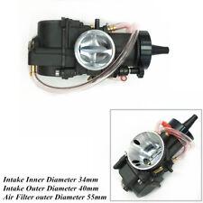 34mm Carburetor Carb For Honda Suzuki KTM Fit 200cc 250cc 300cc 350cc Engine