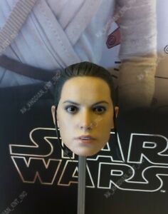 Hot Toys MMS337 Star Wars Disney BB 8 Rey 1/6 Action Figure's head sculpt only