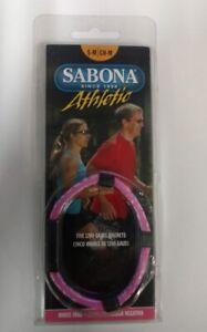 Sabona Athletic Magnetic Bracelet - Pink - S-M