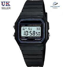 LCD Digital Black Plastic Sports StopWatch *BRAND NEW*