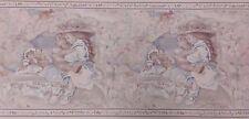Girl and Teddy Bear- Wallpaper Border, 5 meter pkg, PA# FRB4101