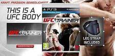 PS3 Spiel UFC Personal Trainer inkl. Beingurt MOVE Neu