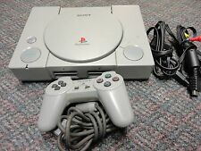 Sony PlayStation 1 Gray Console COMPLETE