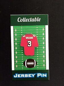 Seattle Seahawks Russell Wilson jersey lapel pin-Best Seller