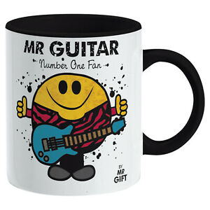 Guitar Player Mug - Gift for The World's No 1 Music Fan Present for dad him man