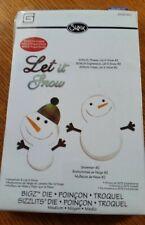 Sizzix Bigz with Bonus Sizzlits Die - Snowmen & Let it Snow by BasicGrey