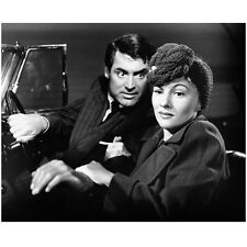 Cary Grant in Car Looking at Woman with Wide Eyes 8 x 10 Inch Photo