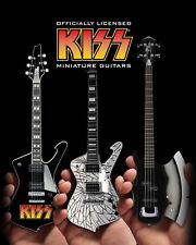 KISS® Set of 3 Miniature Guitar Models - Officially Licensed