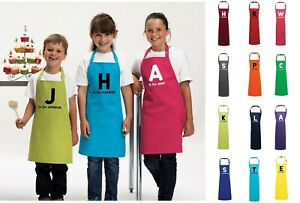 Personalised Kids Childrens Baking Cooking Apron Name Custom Print