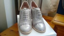 Hispanitas Silver shoes size 4