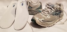 Women's  Brooks Addiction 10 Size 9.5 Running Shoes Athletic Sneakers White Blue