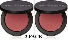 X2 Youngblood Pressed Mineral Blush New In Boxes Temptress (Set of Two)