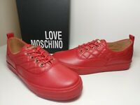 Love Moschino Women's Red  Trainer Sz: uk4/eu37, rrp: £185 *new in box*