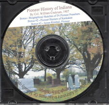 Indiana Pioneers Trio - IN Genealogy