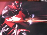 1993 Yamaha SECA II 600cc Motorcycle Brochure, Original 11111-05-93