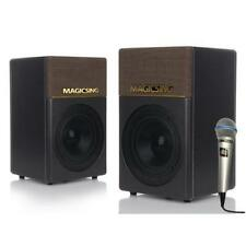 Magic Sing KP-650 Powered Speakers Bluetooth Compatible Mic Input