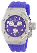 Swiss Legend 10535-011 Women's Trimix Diver Chronograph Watch Purple New in Box!
