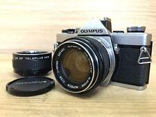 *Exc+4* Olympus OM-1 SLR 35mm Camera w/ G Zuiko Auto S 50mm F/1.4 Lens From JPN
