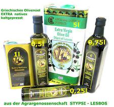 Griechisches Olivenöl natives extra Stipsi-Lesbos Kaltgepresst 20l-4x5l Kanister