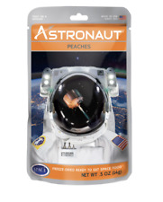 1 Pc Astronaut Space Food - Freeze Dried Fruits, Astro Nutritions- Peaches