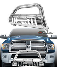 FOR 2010-2018 DODGE RAM 2500/3500 S/S CHROME BULL BAR BUMPER GRILL GRILLE GUARD