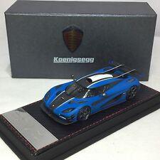 1/43 Frontiart Koenigsegg One 1 Matt Blue Ltd 200 F038-22