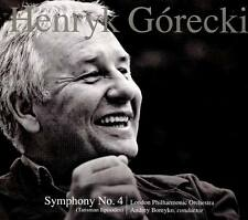 HENRYK GORECKI Symphony No. 4 CD 2016 London Philharmonic Orchestra * NEW