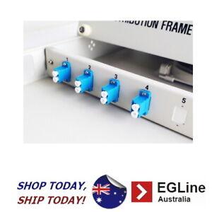 "Fibre Optic Patch Panel Enclosure for 19"" rack - 1RU-Sliding Cover / LC Type"