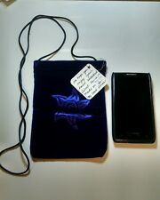 velvet pouch perfect for phone embossed with star power *hand crafted by artist*