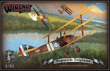 OOP Wingnut Wings 1/32 Sopwith Triplane High Quality Scale Model Kitset #32008