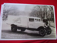 1931 FORD REFER TRUCK ICE CREAM  WASHINGTON DC  11 X 17  PHOTO   PICTURE
