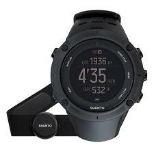 Suunto Ambit3 Peak Black HR GPS Multisport Triathlon Watch with HRM SS020674000