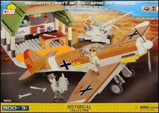 COBI Messerschmitt Bf 109 - African Mission (5544) - 500 elem. - WWII scene