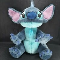 "Lilo and Stitch Plush Stuffed Alien Blue Dog Soft 13"" Disney Large Soft Beanie"
