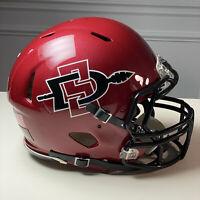 San Diego State Aztecs - Riddell Speed Model Full-Size NCAA Football Helmet