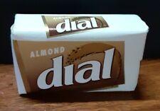 NEW Vintage DIAL SOAP BAR Almond ORIGINAL PACKAGING Sealed Large 5 oz
