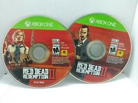 Red Dead Redemption 2 (Xbox One, 2018) DISCS ONLY - Excellent Cond - Free Ship!