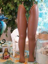 "Uneeda Black Playpal Doll Legs Unmarked Vintage Doll Legs for 34"" Playpal Doll"